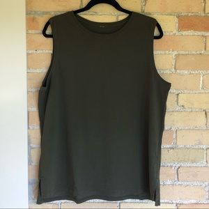 Lululemon Army Green Tank Top